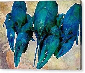 Crawfish Blues Canvas Print by Stranger  Mojo