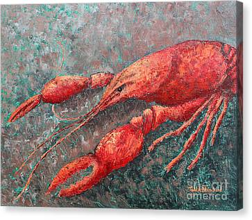 Crawfish Canvas Print