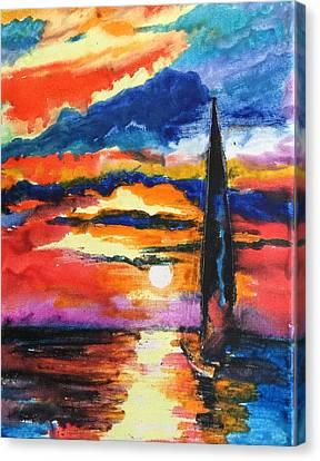 Crayola Collection Canvas Print
