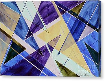 Crayola Crush Of Color Canvas Print by ShawN ShawN