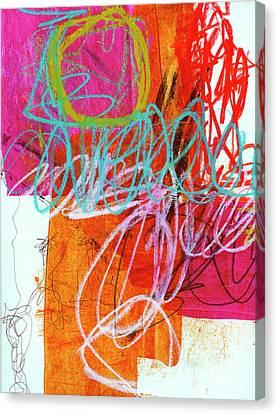 Crayon Scribble #7 Canvas Print by Jane Davies