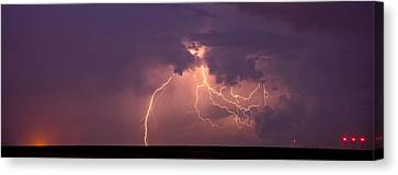 Crazy Bolts Canvas Print by Darren  White
