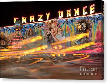 Crazy Dance Canvas Print by Juli Scalzi