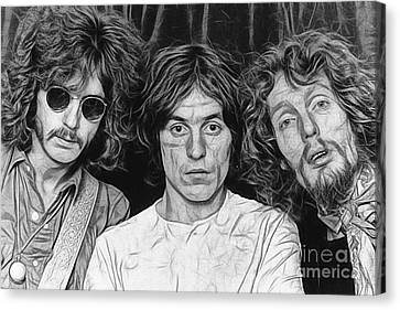 Cream Eric Clapton Collection Canvas Print by Marvin Blaine