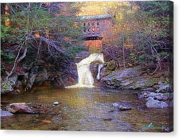 Creamery Bridge Canvas Print