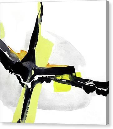 Creamy Yellow 1 Canvas Print