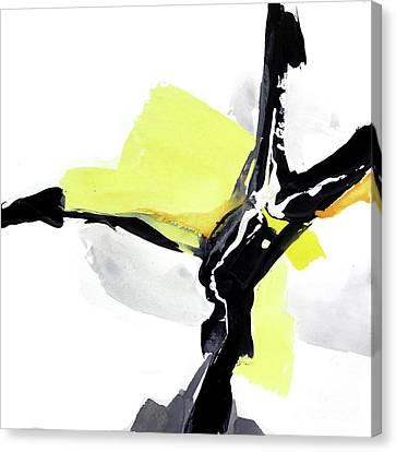 Creamy Yellow 3 Canvas Print