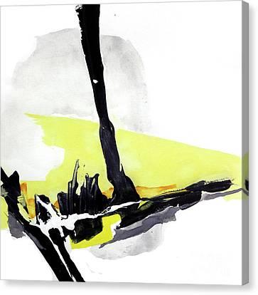 Creamy Yellow 4 Canvas Print