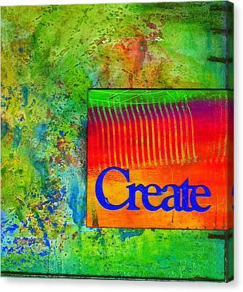 Create Canvas Print by Angela L Walker