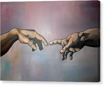 Creation Canvas Print by Brent Jones