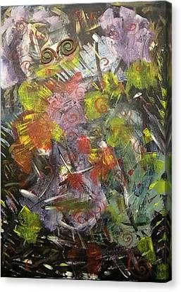 Creation Canvas Print by Carmen Kolcsar