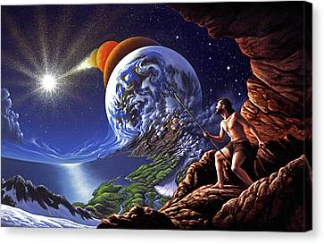 Creation Canvas Print by Jerry LoFaro