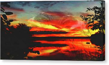 Creation Canvas Print by Mike Breau