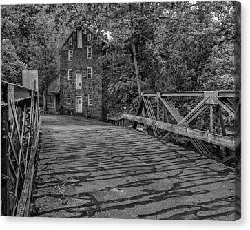 Creek Crossing Canvas Print by Capt Gerry Hare