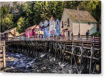 Creek Street  Canvas Print by Robin Williams