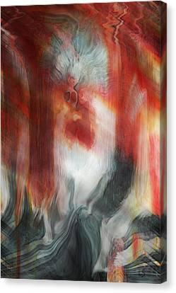 Music Inspired Art Canvas Print - Creep by Linda Sannuti