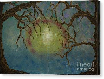 Creeping Canvas Print by Jacqueline Athmann