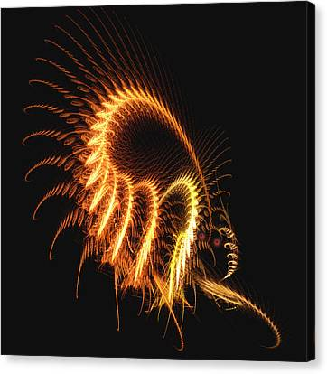 Canvas Print featuring the photograph Creepy Crawlie by Jacqi Elmslie