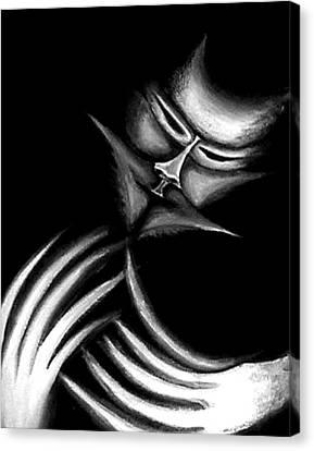 Creepy Figure Canvas Print