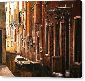 Crema Veneziana Canvas Print