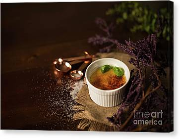 Creme Brulee  Canvas Print