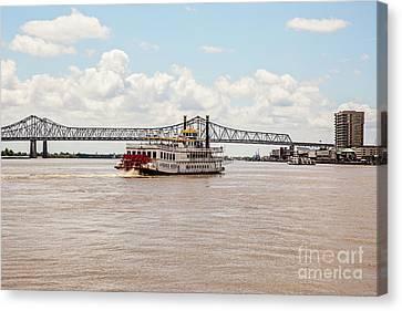 Canvas Print - Creole Queen New Orleans by Scott Pellegrin
