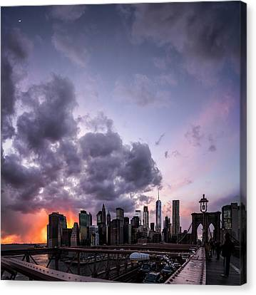 Crepsucular Nights Canvas Print