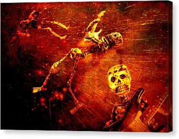 Canvas Print featuring the photograph Crescendo by Jeff Gettis