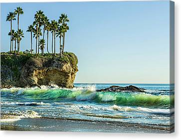 Crescent Bay Canvas Print by Kelley King