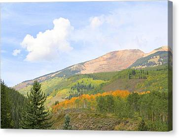 Crested Butte Canvas Print by Jessie Foster
