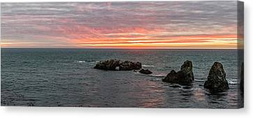 Cresting Of Colors Canvas Print by Jon Glaser