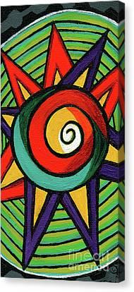 Streetlight Canvas Print - Creve Coeur Streetlight Banners Whimsical Motion 12 by Genevieve Esson