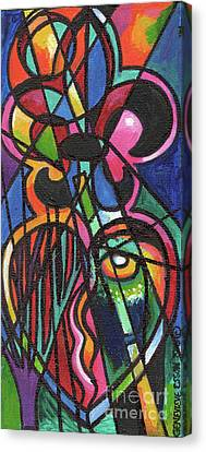 Creve Coeur Streetlight Banners Whimsical Motion 19 Canvas Print