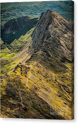 Crib Goch Canvas Print