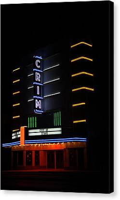 Crim Theater Canvas Print by Gayle Johnson