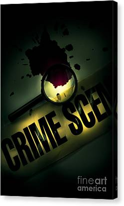 Law Enforcement Canvas Print - Crime Scene Investigation by Jorgo Photography - Wall Art Gallery
