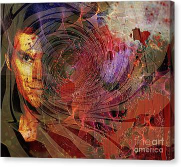 Crimson Requiem Canvas Print