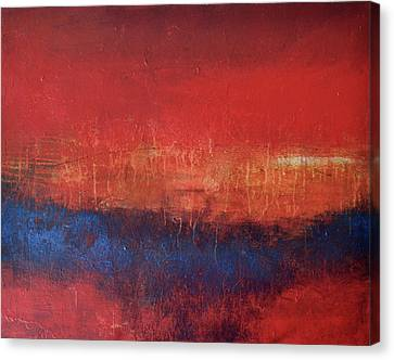 Crimson Sky Canvas Print by Filomena Booth