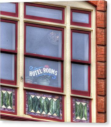 Cripple Creek Hotel Rooms 7880 Canvas Print by Jerry Sodorff