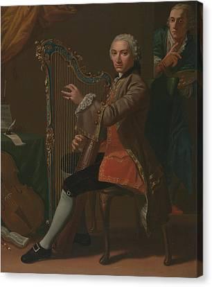 Cristiano Giuseppe Lidarti And Giovanni Battista Tempesti Canvas Print