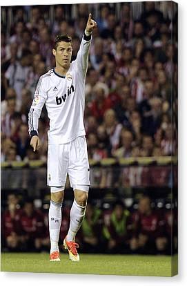 Cristiano Ronaldo Canvas Print - Cristiano Ronaldo 31 by Rafa Rivas