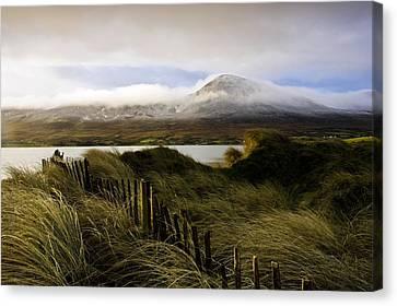 Croagh Patrick, County Mayo, Ireland Canvas Print by Peter McCabe