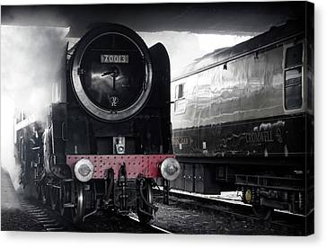 Cromwell And Cromwell Canvas Print by David Birchall
