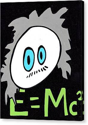 Cronkle Einstein Canvas Print by Jera Sky