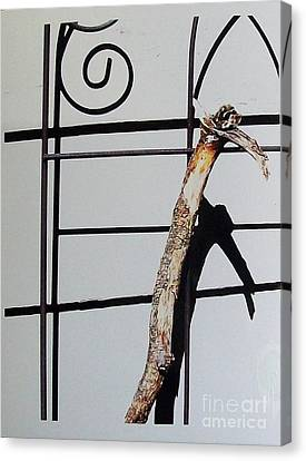 Crooked Cain And His Shadow Canvas Print