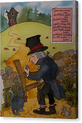 Crooked Man Canvas Print by Victoria Heryet