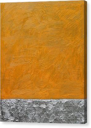 Fields Oil On Board 16 X 20 2014 Canvas Print by Radoslaw Zipper