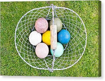 Croquet Balls Canvas Print