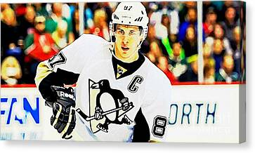 Crosby Eighty Seven Canvas Print