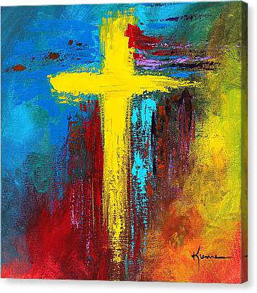 Cross 2 Canvas Print by Kume Bryant